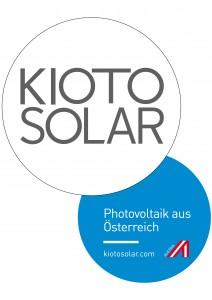 8 Kioto + Logo-Slogan Blau DE